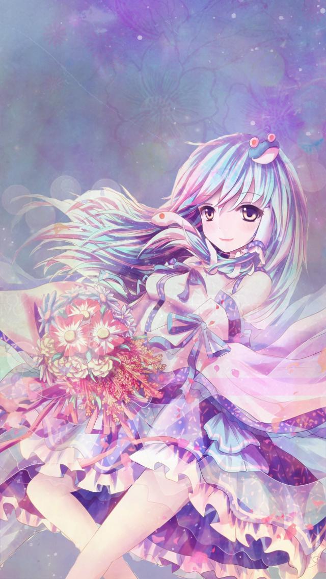 Iphone 5 Wallpaper ~ Random Anime girl   ✩ Anime ✩   Pinterest ...