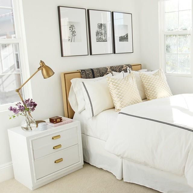 White Gold Bedroom: 10 Beds Worth Jumping Into