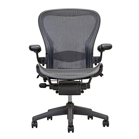Aeron Chair By Herman Miller Highly Adjustable Open Box Carbon
