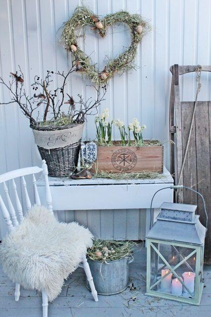 peaceful-yet-lively-scandinavian-spring-decor-ideas- 12 Shabby - dekoration für küche