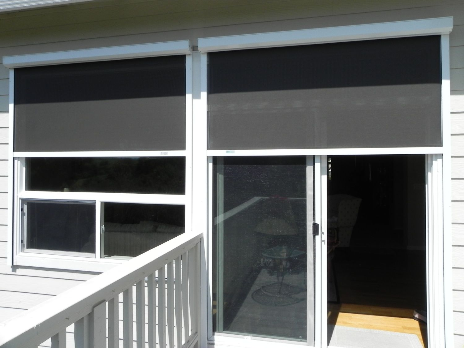 European Rolling Shutters Ers Shading Line Of Retractable Solar Screens Block The Sun S Damaging Uv Rays While Preserving Your View