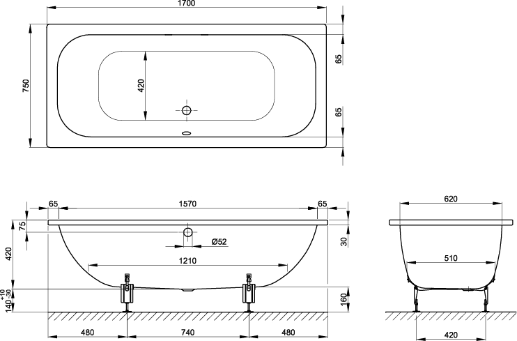 Learn All About Bath Tub Size From This Politician Bathtub Size