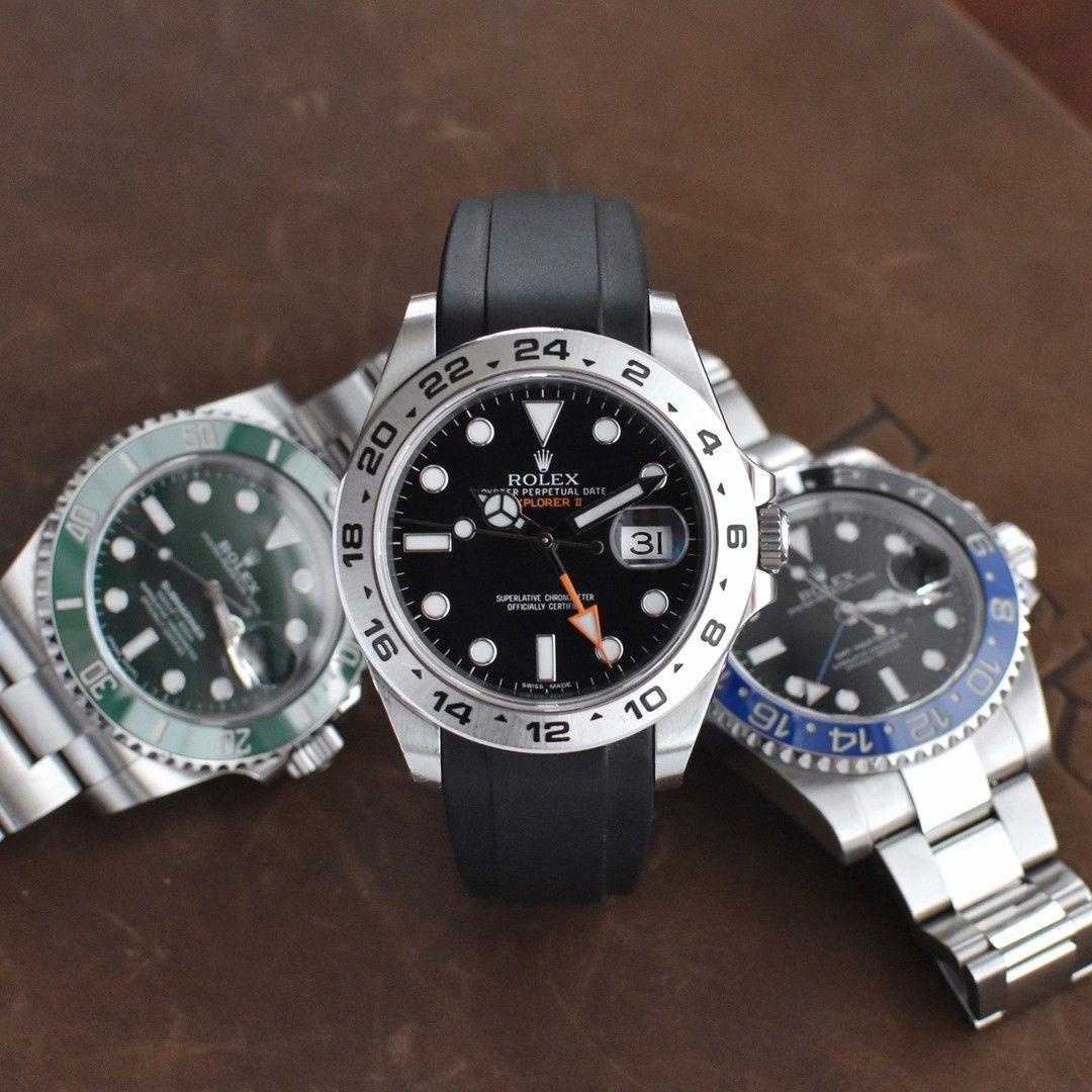 Rubber Watch Straps in 2020 Rolex explorer, Rolex