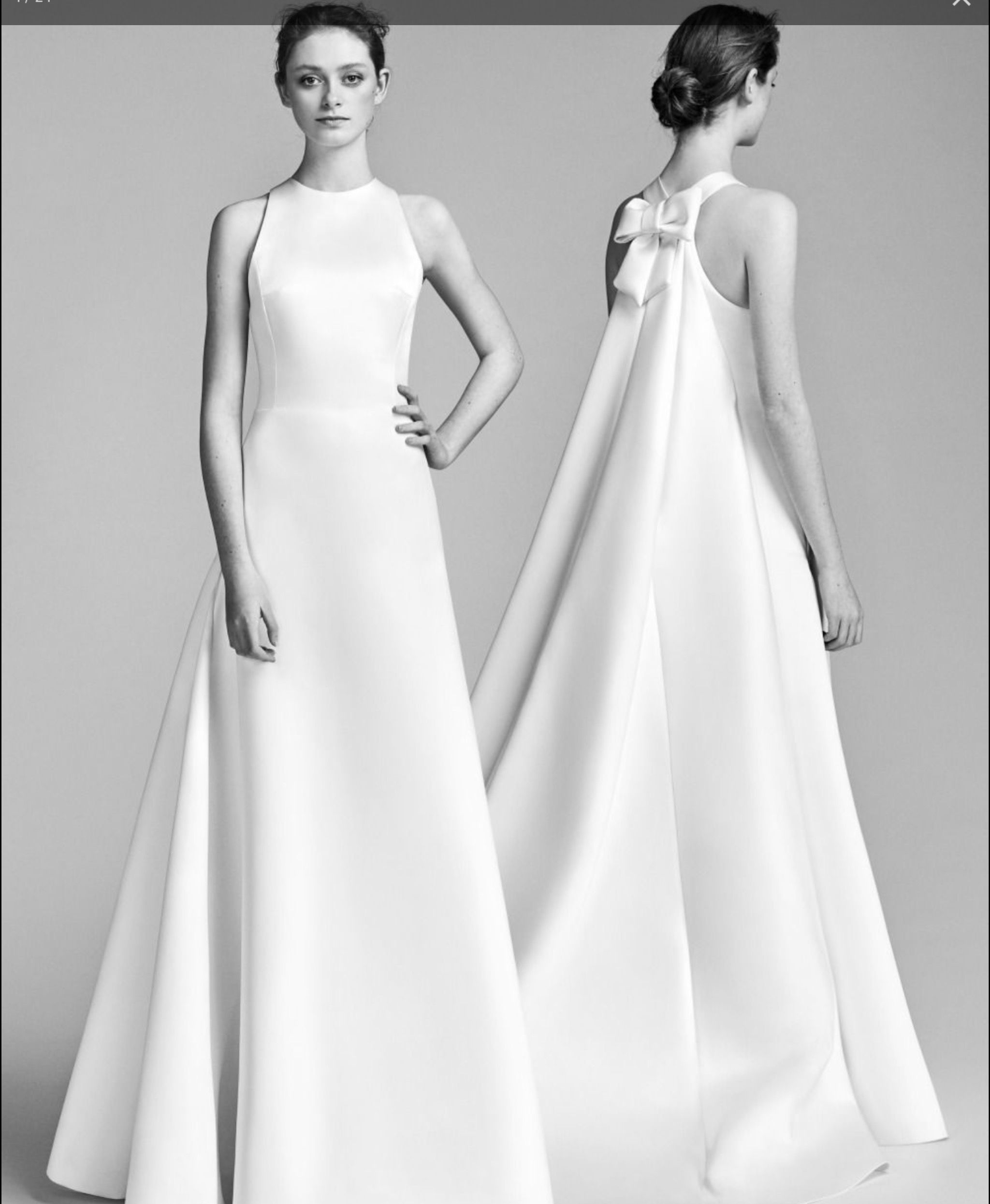 Grey mermaid wedding dress  Victor en Rolf  Bridesmaids  Pinterest  Wedding dresses Wedding