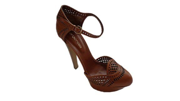 Enticing, Charming & Beautiful. - Sergio Rossi Sandals Shoes A43220 Cuoio Dark Brown - 37.5, 7.5