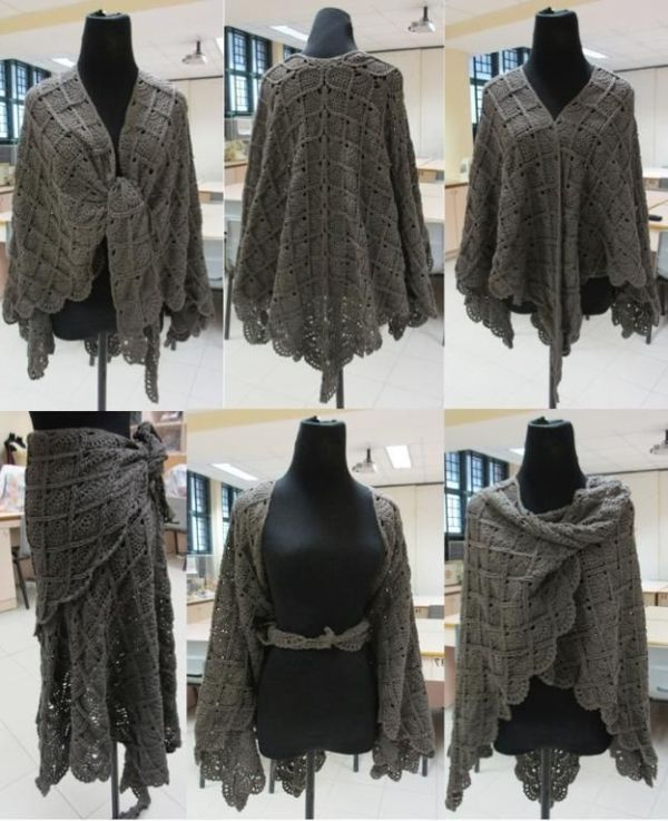 Free Crochet Patterns For Shawls And Wraps by keigh | bed jackets ...
