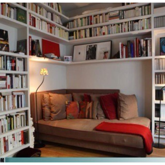 62 Home Library Design Ideas With Stunning Visual Effect: Pin By Tiffany Holcomb On Dream House