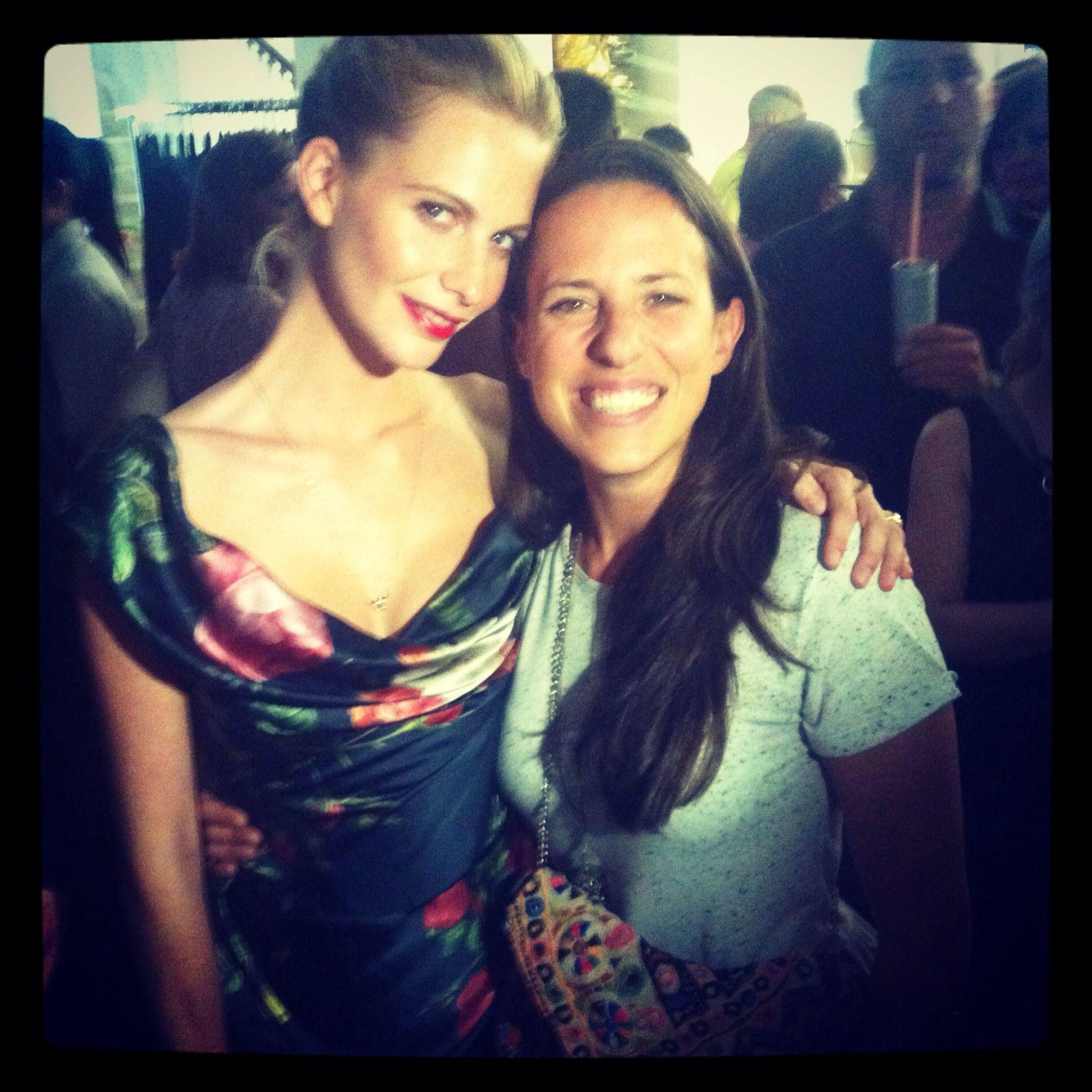 POPPY DELEVINGNE & SILVIA GATTIN at the Vienna Fashion ...
