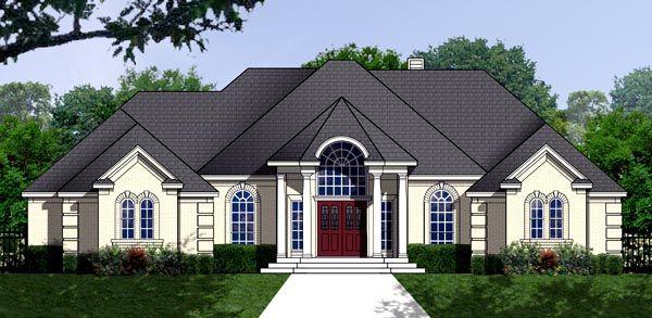House Plan chp-49121 at COOLhouseplans.com