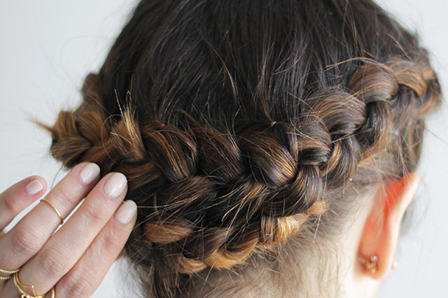 إزاي اعمل تسريحة التاج و الأميرات Braided Hairstyles Easy Hair Styles Braids For Long Hair