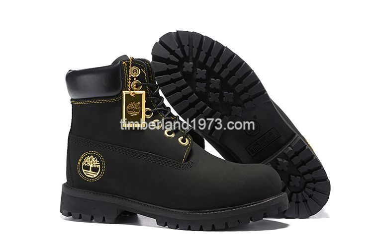 2017 Fashion Timberland Women'S 6 Inch Boot Black And Gold Timberland 6 Inch Boots Black Mens Shoes