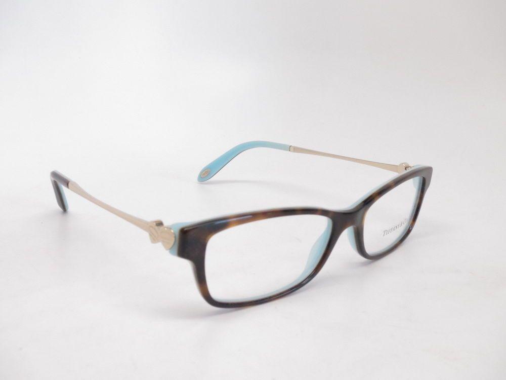 7bf55f0a8d86 Brand   Tiffany   Co Model Number   TF 2140 Color Code   8134 Frame Color    Havana  Blue Lens Color   Clear (Demo lenses