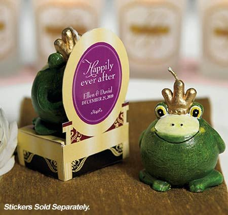 Frog Prince Candle Favors