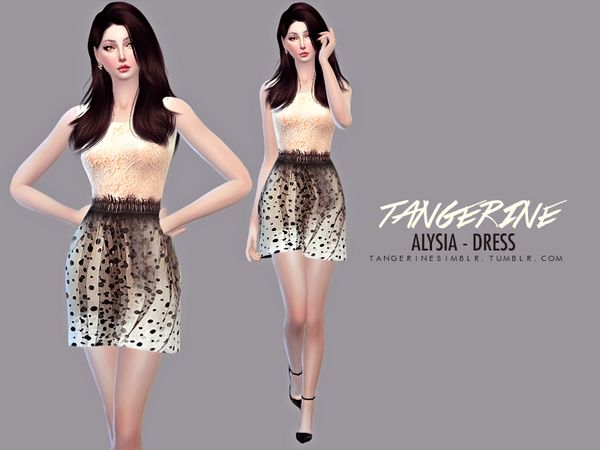 Sims 4 CC's - The Best: Clothing by Tangerine