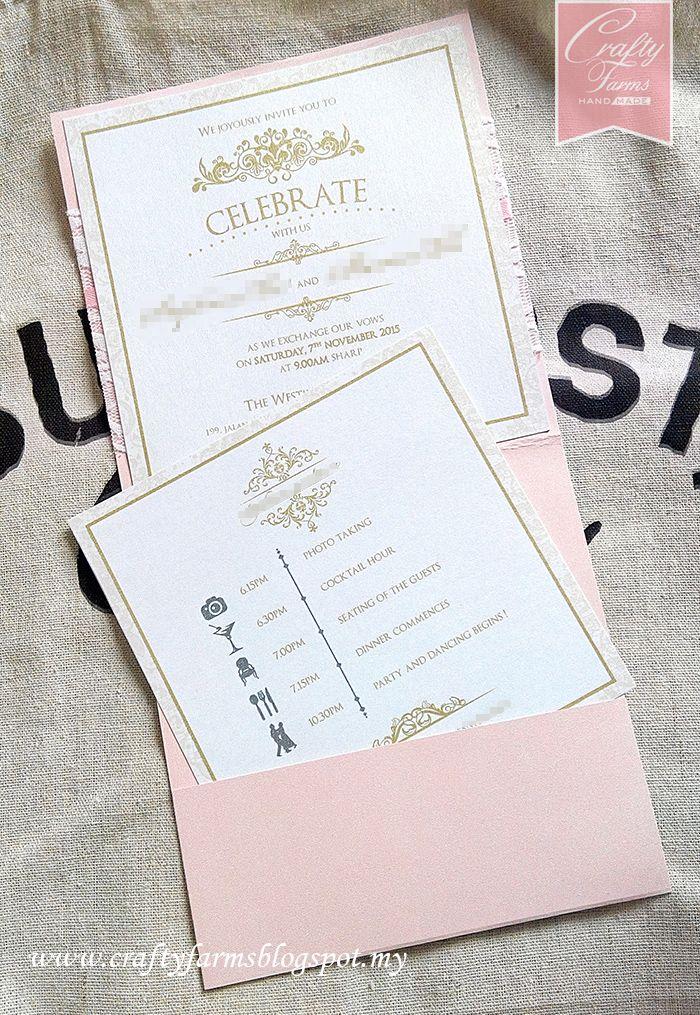 Wedding Card Malaysia Wedding cards handmade, Wedding