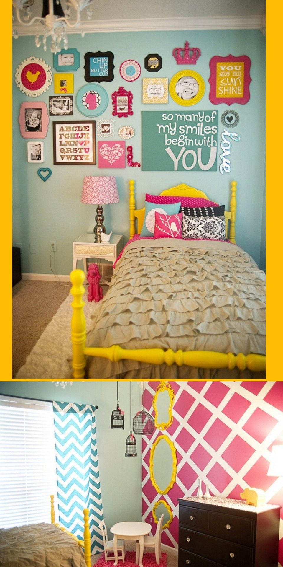 Girl Bedroom Ideas Yellow printables - girls bedroom ideas get me this room ! i will love