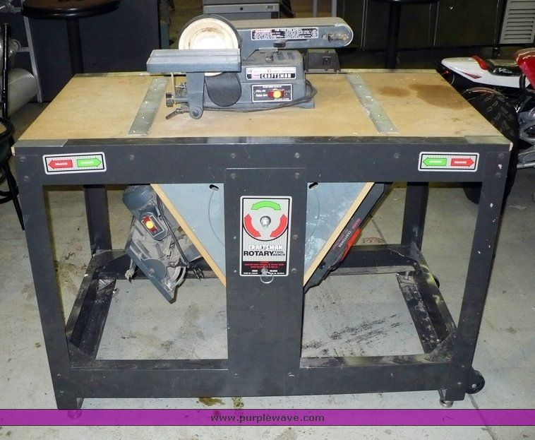 Craftsman Rotary Tool Bench Google Search Workshop Ideas Pinterest Tool Bench Sears