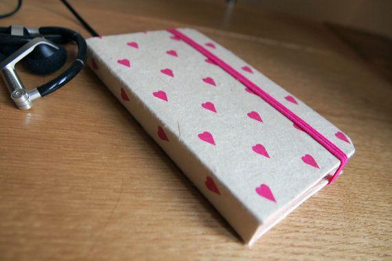 Moleskine Style Hard Book iPhone Case. Found on Etsy.