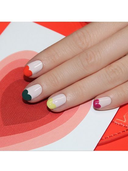 Best Instagrams - Jinsoon Choi sweetheart french manicure