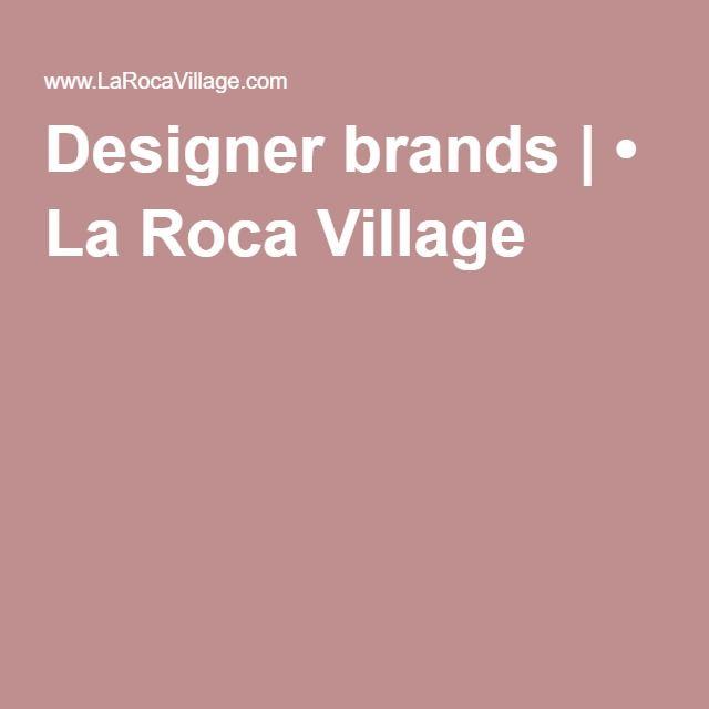 Designer brands | • La Roca Village`Barcelona