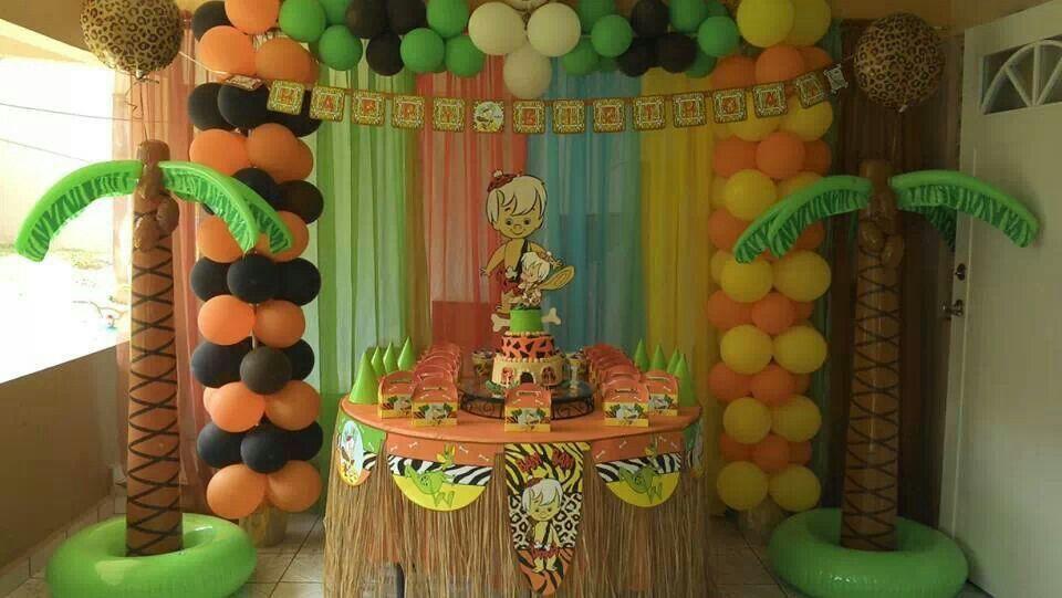 Bam Bam Decoration Fiestas De Cumpleaños De Bebé