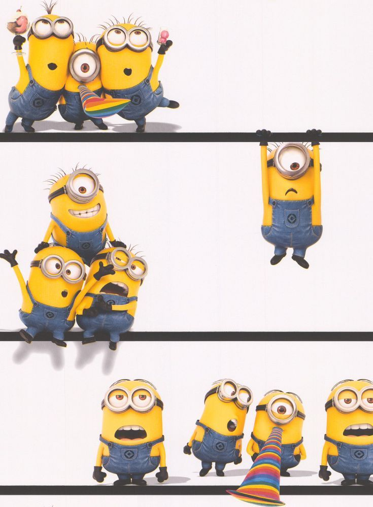 Look Who Dropped In Minion Wallpaper Is Now Available Perfect For Any Despicable Me Fan Great