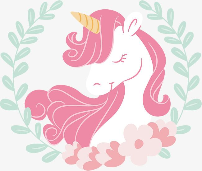 Pink Hair Unicorn Vector Png Unicorn The Sleeping Unicorn Png And Vector Unicorn Painting Unicorns Png Unicorn