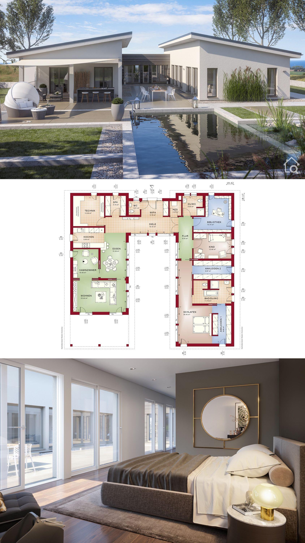 Large Bungalow House Floor Plans Modern Contemporary European Architecture Inter Bungalow House Floor Plans European Architecture Design Bungalow House Plans