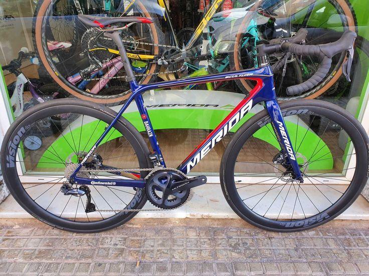 Bicicleta Merida en talla 53  51611. CATEGORÍA: Bicicletas de carretera. AÑO: