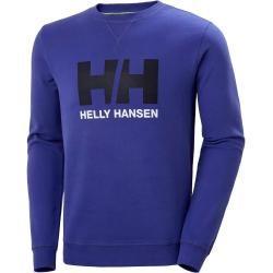 Photo of Helly Hansen Mens Logo Crew Sweat Blue L