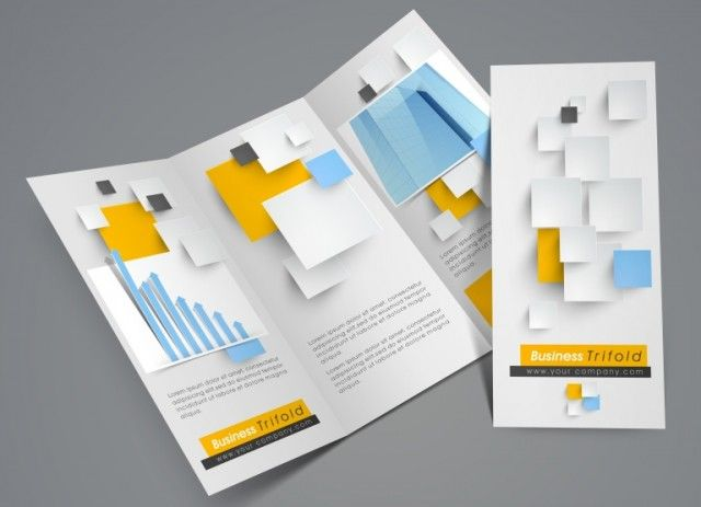 how to make a business brochure