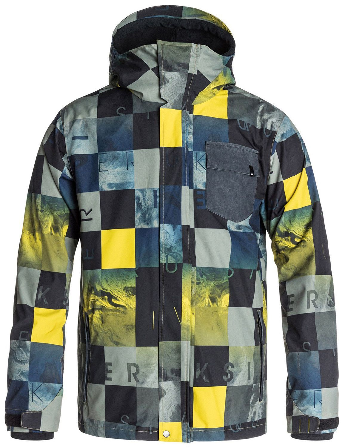 56ac052e5032 Quiksilver Mission 3 In 1 Snowboard Jacket Mens