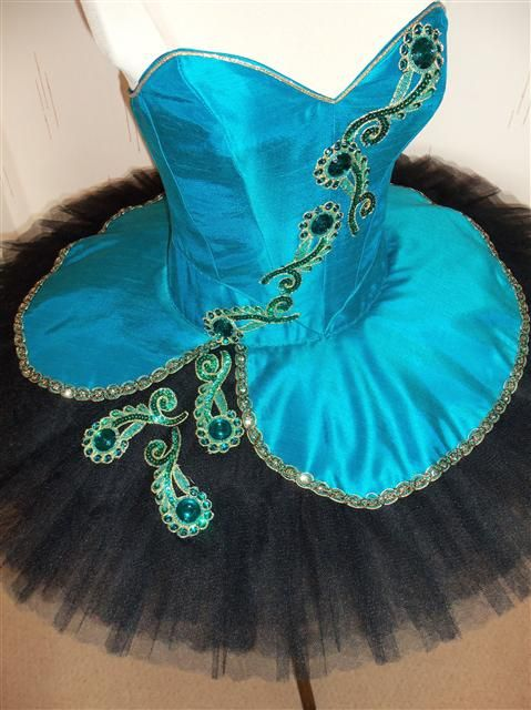 Awesome Peacock Ballet Tutu