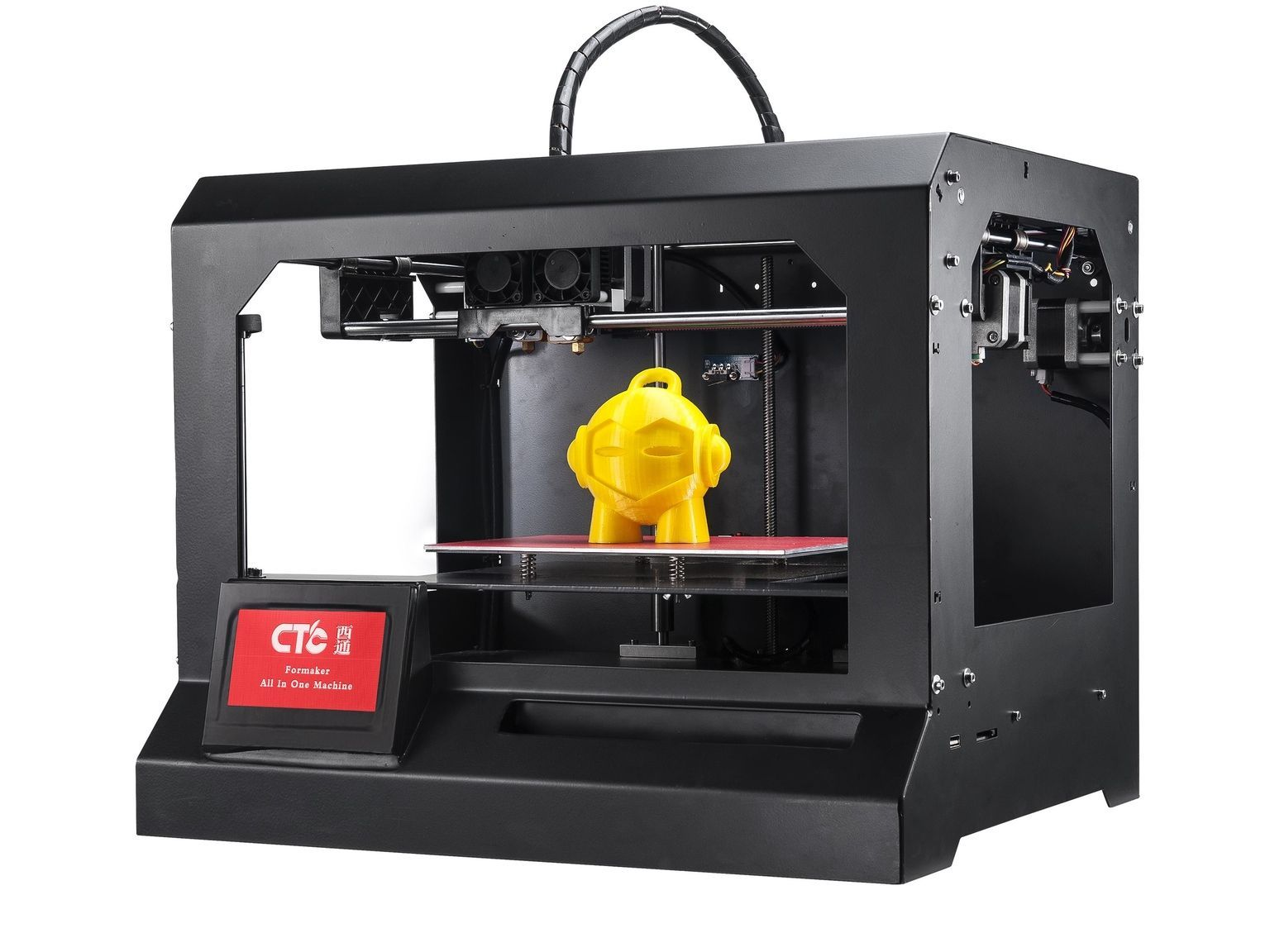 Ctc New Product Formaker 4 Functions Cnc Mill Pcb Engraving Laser Engraving And Dual Head 3 D Printer All In One Mac Printer 3d Printer 3d Printer Machine