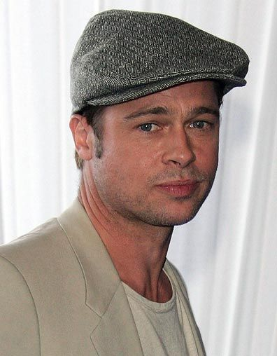 Brad Pitt Mütze