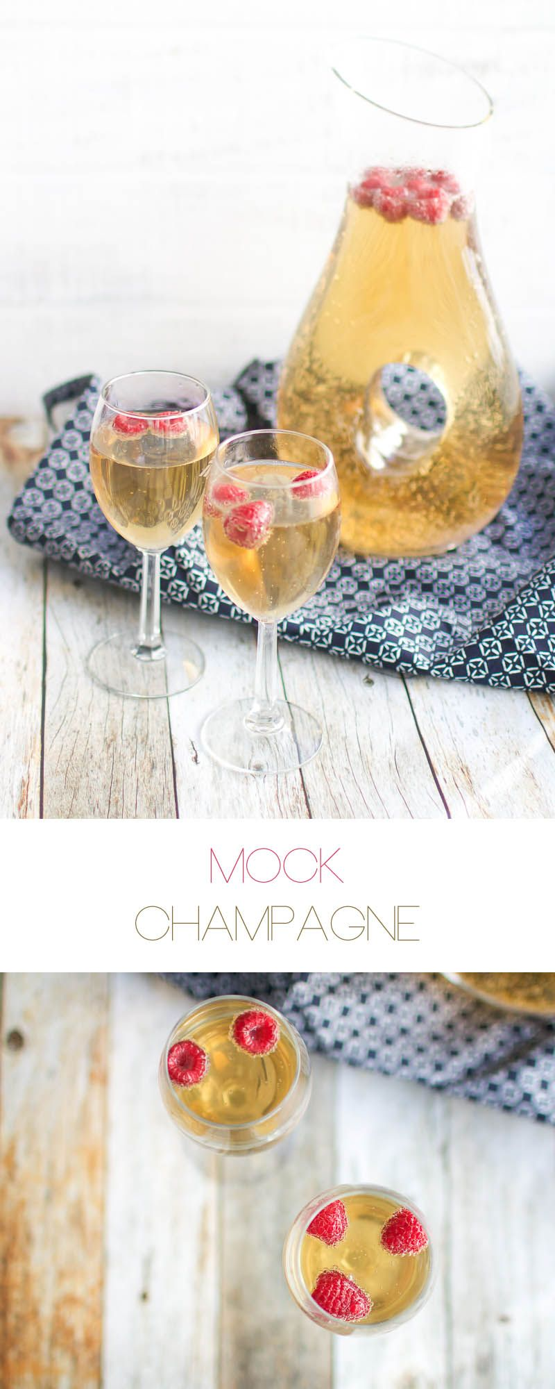 Mock-Champagne for your New Years Toast! {Non-alcoholic} | Oh So ...