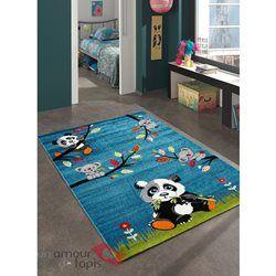 Tapis SKY PANDA bleu Tapis Enfants 120 x 170 cm | Tapis chambre ...