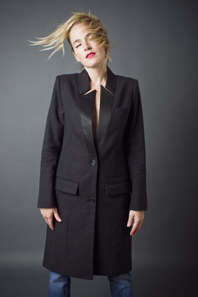 Flat Lapel Coat