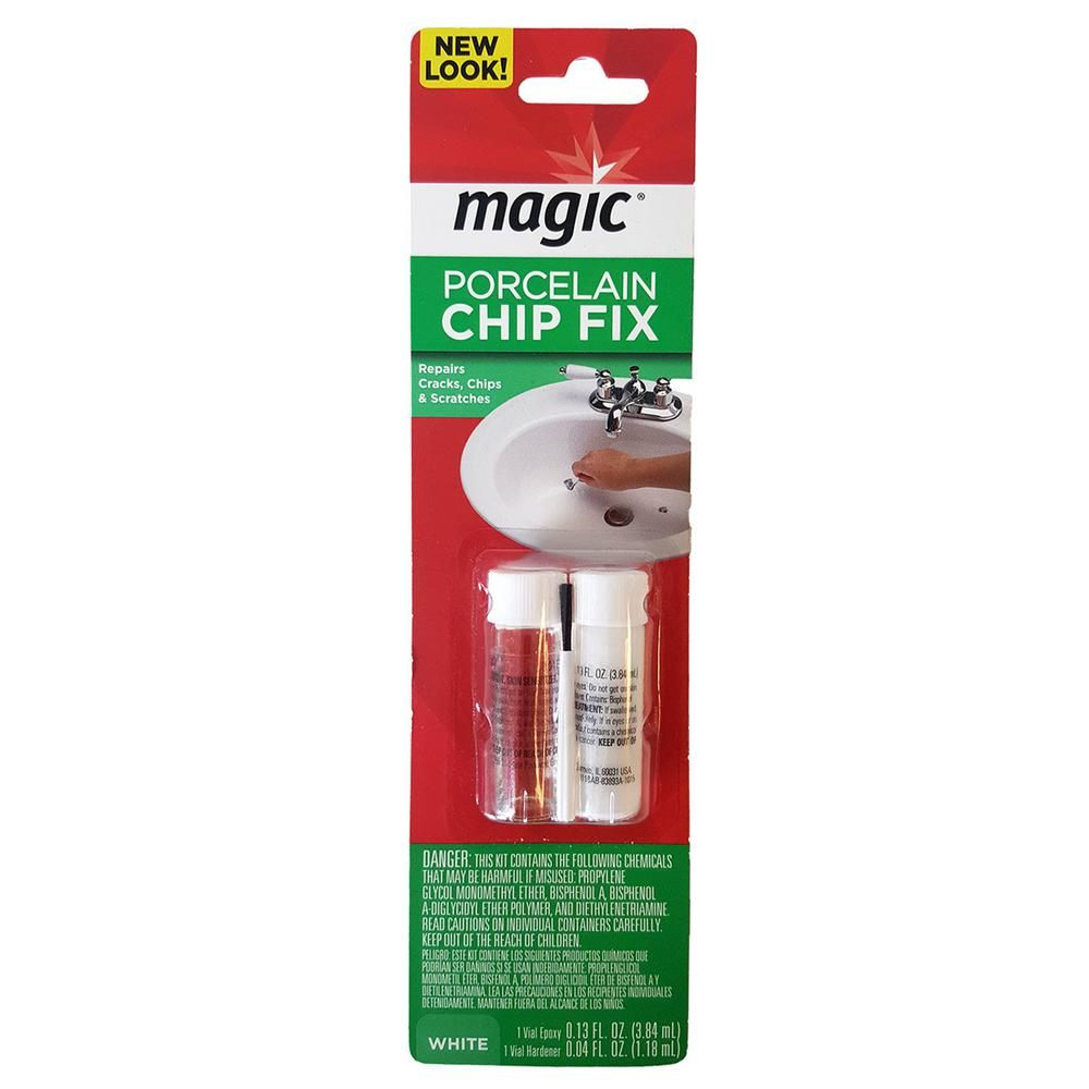 Magic Porcelain Chip Fix Repair For Tubs And Sink 3007 Sink