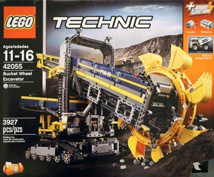 42055 Bucket Wheel Excavator Lego Technic Lego Lego Technic Sets