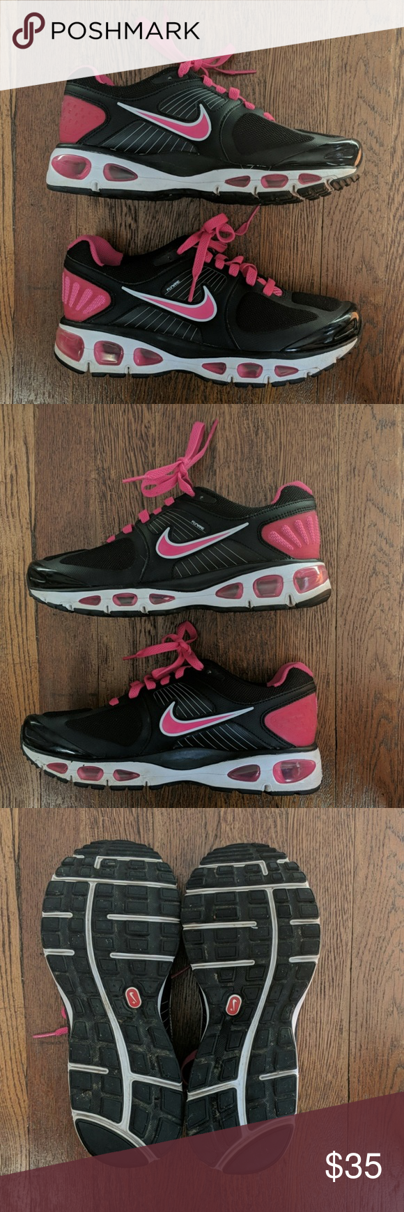 Nike Fitso Flywire Air Tailwind, size 7.5 Nike Fitso