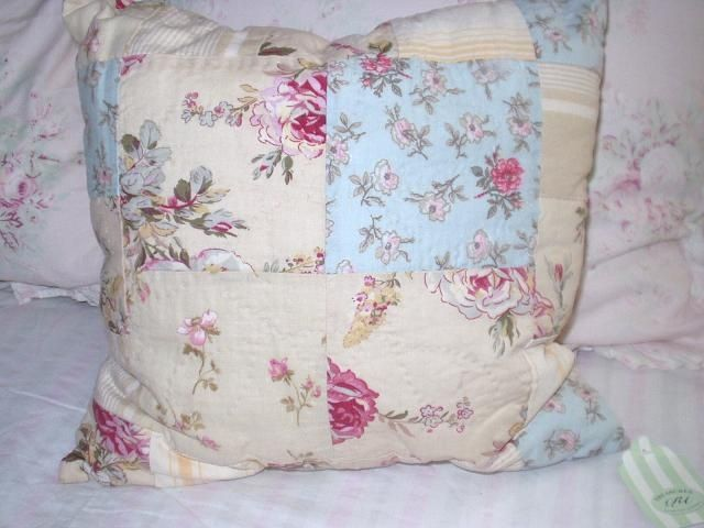 Diy Shabby Chic Throw Pillows