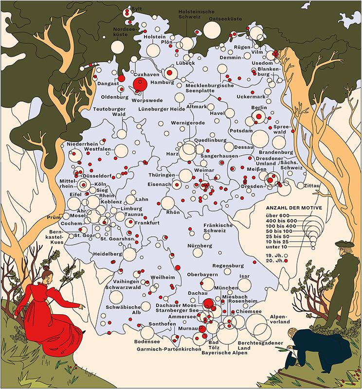 Landschaftsmalerei History Germany Map