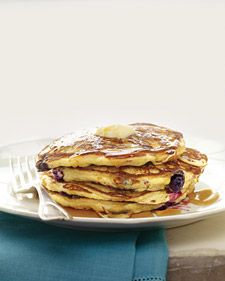 Blueberry Cornmeal Pancakes Recipe Yummy Things I Would Like To Cook Fruhstuck Brunch