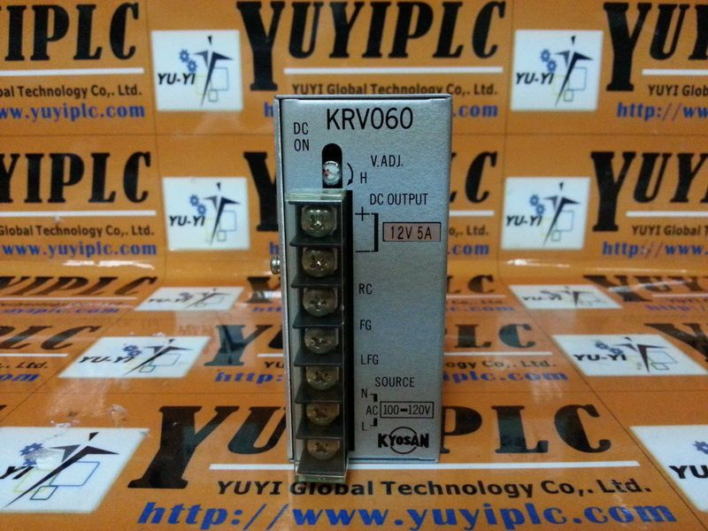 Kyosan Power Supply Krv060 12 Power Supply Switched Mode Power Supply Power