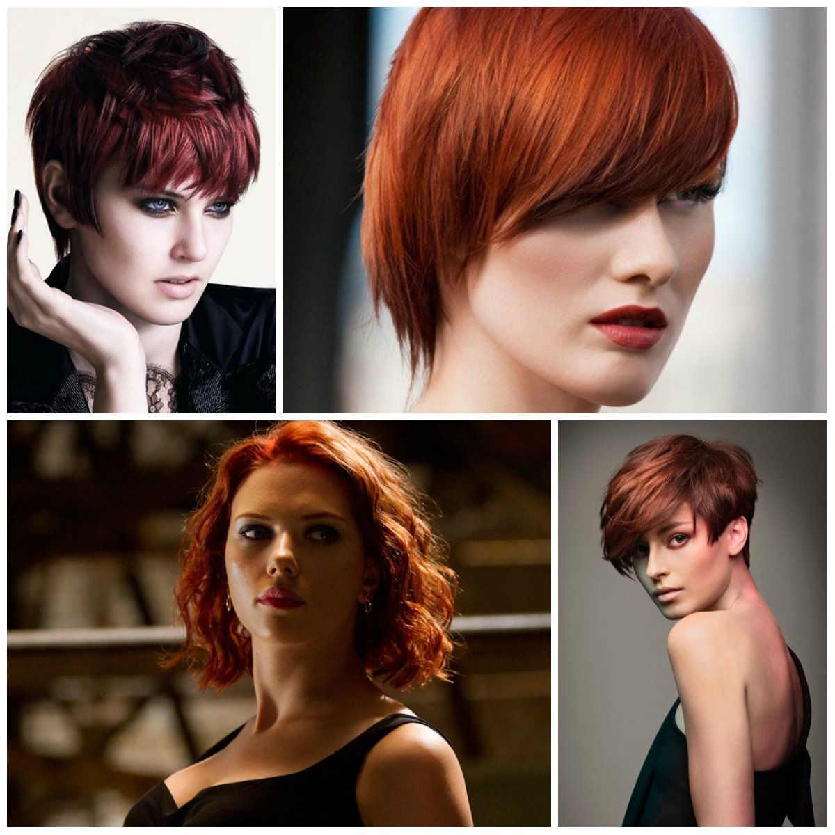 Auburn Hair Color For Short Haircuts Best Hair Color Trends 2017