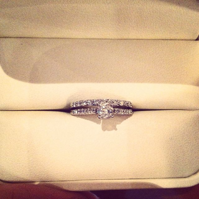 My beautiful wedding ring :)