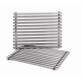 Shop Weber 2 Pack Rectangle Stainless Steel Cooking Grate At Lowes Com Gas Grill Gas Grill Reviews Grilling