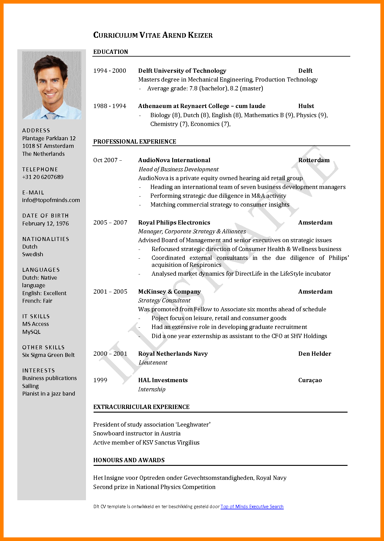 Resume Templates And Resume Examples Job Resume Format Free