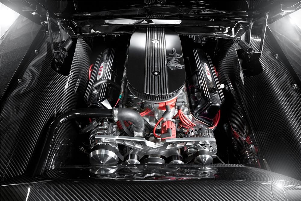 1967 Mustang Custom Fastback Shelby 427 aluminum bored